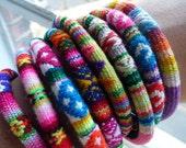 Solkissed Woven Bracelet Rainbow Colors- 3 bracelets per order