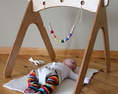 Natural Wood Baby Gym for BECKY