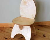 Natural Childrens Wooden Chair