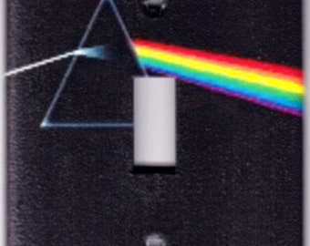 Pink Floyd Dark Side of the Moon Album Cover Switchplate Cover - Single Regular size (319)