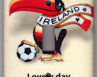 Lovely day for a Guinness Beer Poster Switchplate Cover - Single Regular size (403)