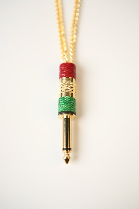 rasta premoplugz audio jewelry necklace by premoplugz on etsy