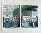 Seasons: WINTER // Art Print