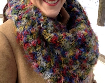 Soft & Plush Infinity Loop Scarf- Sophisticated