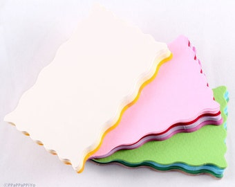 Color Paper Business cards (55) paper CR02 - Blank