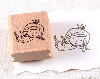 50% OFF SALE I am a Princess Rubber Stamp