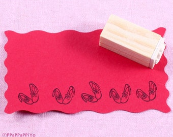 shoes Rubber Stamp