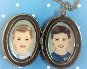 Cameo Locket for mother or grandmother