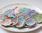 Hand Crocheted Mini And Small Doily Assortment