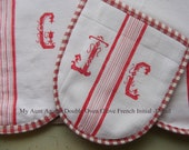Oven glove French Initial