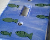 Fishy Light Switchplate Cover