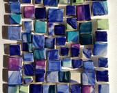 small multi squares mosaic tiles