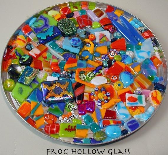 Glass Bits & Pieces Mosaic Art