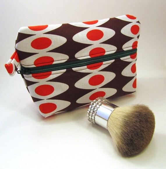 On Sale - Retro Fabric Cosmetic Bag