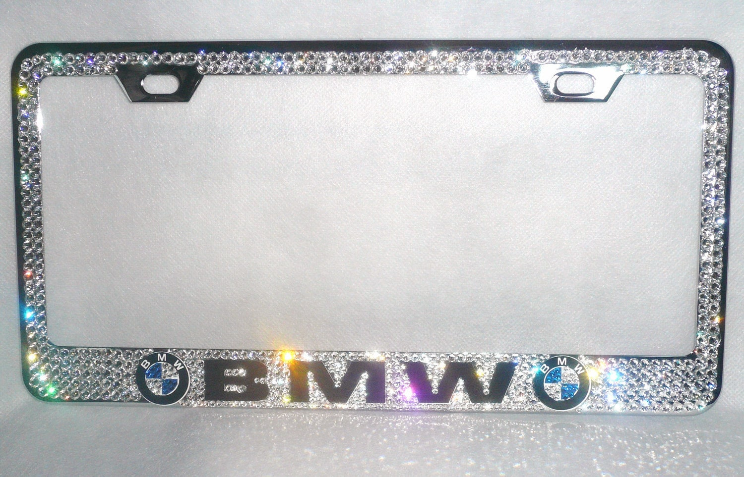 bmw swarovski crystal license plate frame bmw swarovski crystal license plate frame bmw swarovski crystal license plate frame