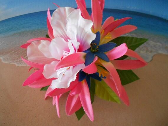 Tropical silk flower for hair accessories( I )