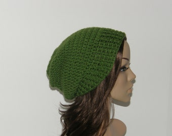 Everyday Slouch Hat - Color: Kelly Green - made to order