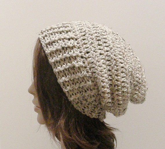 Everyday Slouch Hat - Oatmeal - made to order