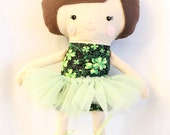 Ballerina Doll Plush - Ryanne - Made To Order