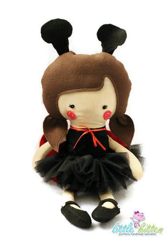 Miss Dotty - the Ladybug Doll - Made to Order
