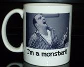 Coffee Mug - Arrested Development Buster I Am A Monster Custom Personalized Coffee Mug