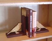 Pretty Bird Bookends