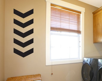 Chevron Arrows - Geometric Pattern -  Vinyl Wall Decal Sticker