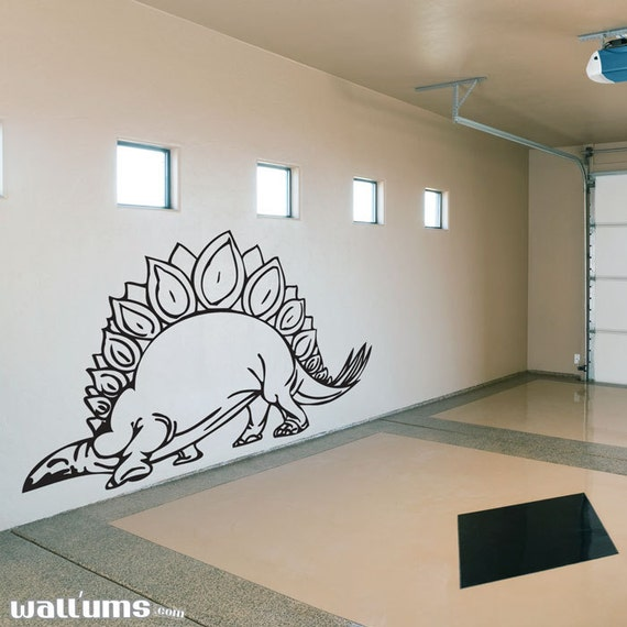 Stegosaurus Dinosaur Vinyl Wall Decal Sticker - Dinosaur Decal, Dino Wall Sticker, Dinosaur Decor, Dino Nursery, Stegosaurus Wall Art