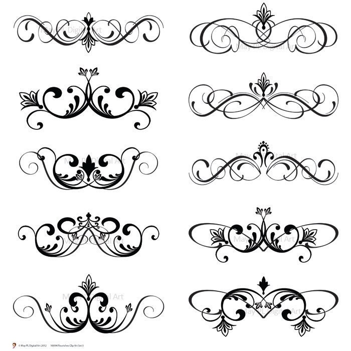 free wedding decorative clip art - photo #6