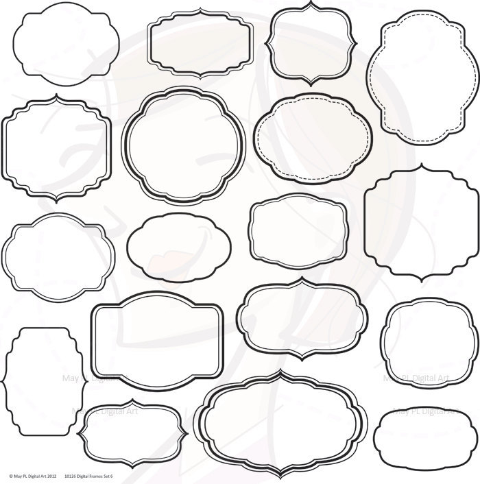 digital clipart frames free - photo #17