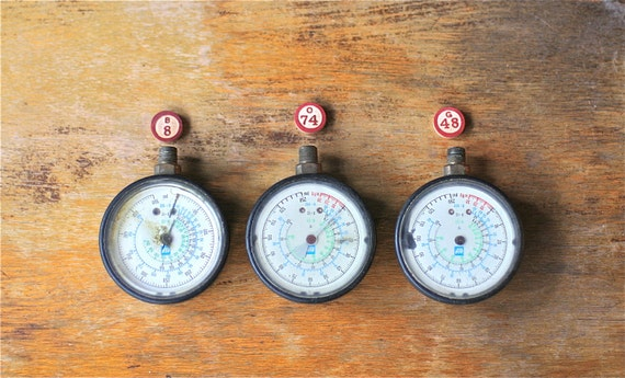 Instant Collection Three Gauges Steampunk