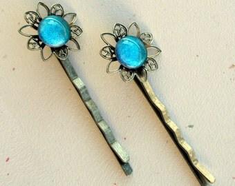 Luna Flower Hair Pin