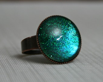 Shadowlands Antique Copper Ring