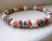 Eclectic Stone Beaded Bracelet