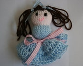 Reserved For Milene. Lord Farquaad Doll. Custom Order. Hand Knitted Doll Made By Kirsty Wright.
