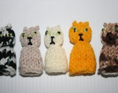 Five Little Kittens Finger Puppets.