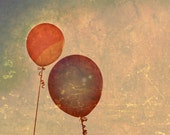 Up, Up - 8x10 photograph - fine art print - balloons - children's art - vintage photography
