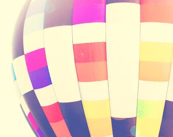 Hot Air Balloon - 8x10 photograph - fine art print - vintage photography - romantic - wedding gift