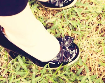 High Heels - 8x10 -fine art print - fancy shoes in the grass- vintage photography - flora bella