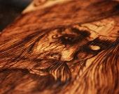 ODIN - Norse God Wood Burning.