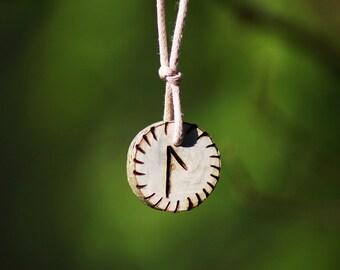 Birth Rune Pendant 'Laguz' 29th April to 14th May.