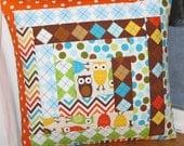 Owl Accent Pillow