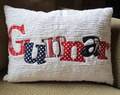 Personalized Applique Name Pillow