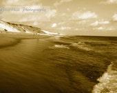 Chasing Waves-Sepia