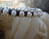 Pearl Jewelry, Jewelry, Bridal Jewelry, Bridal Bracelet, Pearl Bracelet, Handmade Jewelry, Bracelets, HANDMADE Bracelet, Silver Jewelry.