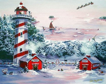 Island of Misfits - an Open Edition Double Matted Print by Artist Cathy Cooksey