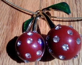 Cherry Charm Choker