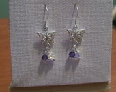Sterling Silver Butterfly Earring