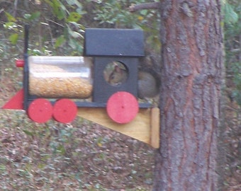 Squirrel Train Feeder