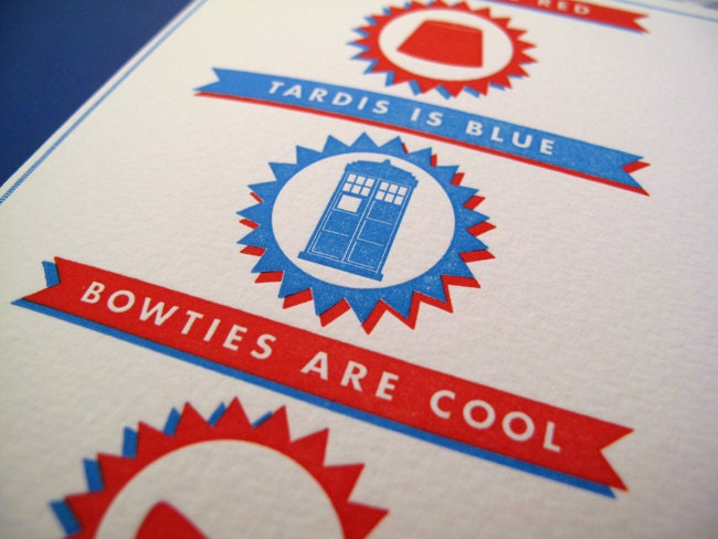 Doctor Who Valentines Day Card By Brucelovesyou On Etsy